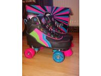 Rio quad Roller Skates size 5 NEW IN BOX