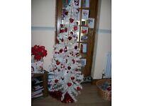 Christmas tree plus decorations