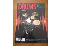 Rockschool Drums Grade 4 book with CD