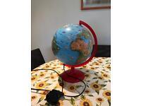 ELC children globe