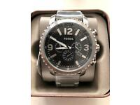 BRAND NEW MENS / GENTS BIG FACE WATCH WITH WARRANTY