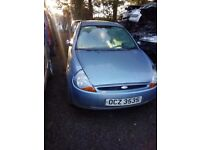 2004 FORD KA 1.3 PETROL BREAKING FOR PARTS