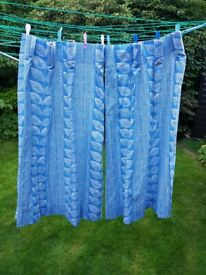 Laura Ashley curtains, small, NEW