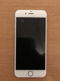 Iphone 6 (Silver Unlocked)