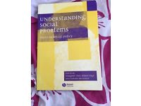 Understanding social problems. Issues in social policy