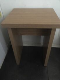 new solid wood small table