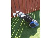 John Letters Swingmaster Junior Golf Clubs RH and bag