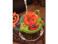 Fisher Price Jumperoo Roarin Rainforest Baby Bouncer