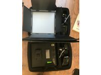2x LED PANEL LIGHTS (Bi Colour with dimmer)