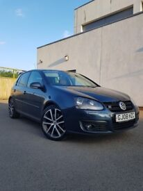 2008 Golf 2.0 TDI 170 GT SPORT , FULL SERVICE HISTORY, LONG MOT!!