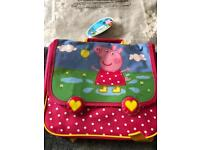 Peppa Pig backpack - brand new with tag