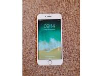 iPhone 6 gold mint condition