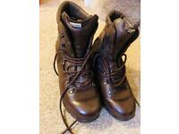 Military brown boots Altbergs 7M