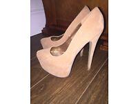 Size 6 high heels