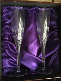 William Hunt Champagne Flutes 🥂