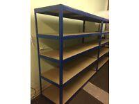 Rapid Racking Budget Storage Shelving 1800 x 1800 x 600 Extra Wide