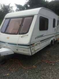 Swift caravan twin axle