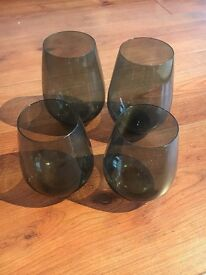 WATERFORD VERA WANG STEMLESS WINE GLASSES FOR SALE