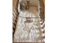Mothercare Loved So Much Nursery Bedding Set & Accessories