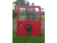 land rover defender or series rear door