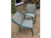 Garden Table 6 chairs and Parasol only £75
