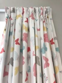 John Lewis made to measure curtains (cost £300)