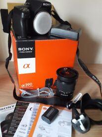 Sony DSLR camera & Tamron lens