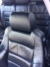 Mk4 Golf GTI 4motion Heated 3 door leather recaro seats with Door Cards