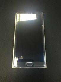 SAMSUNG GALAXY NOTE 4 32GB IMMACULATE BLACK UNLOCKED