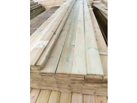 4.8m T & G ex 19mm --£6.50 a length (redwood tanalised timber )