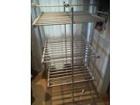 Lakeland heated clothes airer