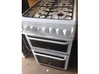Hot point Gas cooker 50cm....Mint Free Delivery
