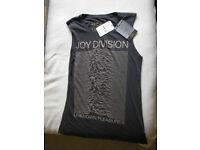 Joy Division Vest Size S