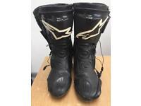 Alpinestars SMX Motorbike Boots (44)