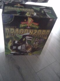 Brand new in box Dragonzord power rangers