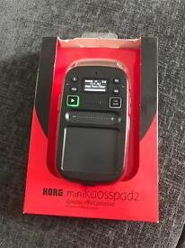 Korg mini Kaoss Pad 2 audio DJ Effects Processor