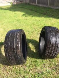 Tyres in excellent condition