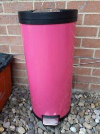 Kitchen Pink Bin