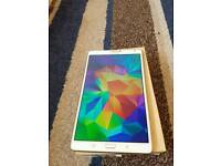 SAMSUNG GALAXY TAB S 8.4 LTE MODEL. WHITE COLOR. ABSOLUTE MINT CONDITION.