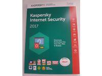 Kaspersky Internet Security 2017 1 Device Only