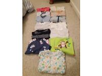 Boys 0-3 m bundle including grow bag, over 25 items