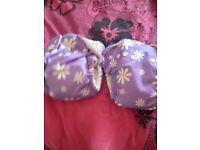 Fuzzibunz flowers nappies