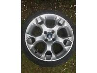 Ford Fiesta Zetec S Alloy and Tyre