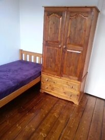 Single room - bills included, no contract. Short term available.