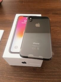 iPhone X 64gb brand new space grey only opened for photos.
