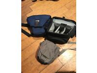 3 camera bags