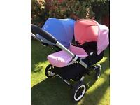 Bugaboo Donkey duo, lovely condition RRP £1,200