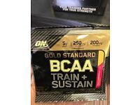 ON Gold / optimum nutrition gold standard BCAA sample sachets