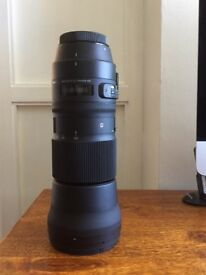 ALMOST NEW Sigma 150-600mm Contemporary Canon Fit Lens