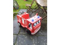 Free fire engine outdoor toy